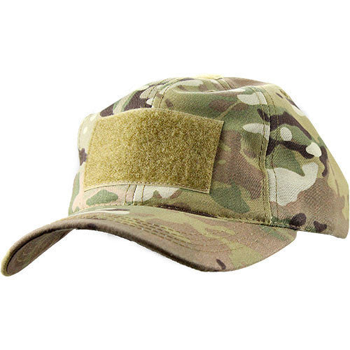Distressed Camo Cotton Corps Hat 0030