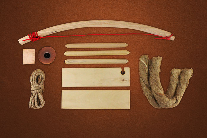 Bow Drill Fire Kit (Deluxe)