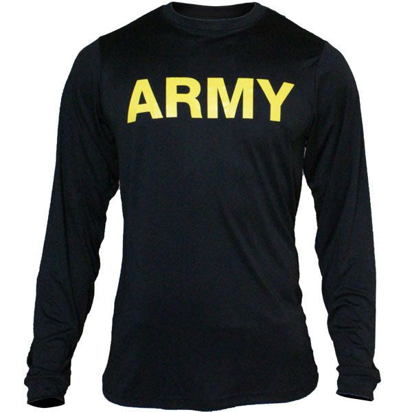U.S. Army PT-Gear Long-Sleeve Shirt