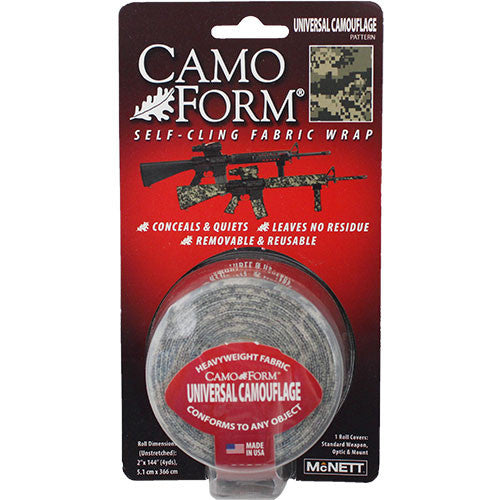 ACU Digital Camo Form Self-Cling Camouflage Wrap