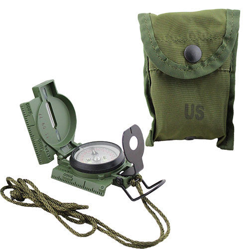 Army Official Tritium Lensatic Compass (3H Model)