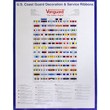 Coast Guard Decoration & Service Ribbon Poster