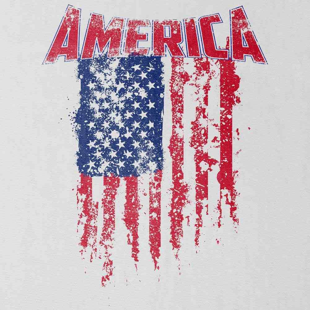 Tattered American Flag T-Shirt - Swatch