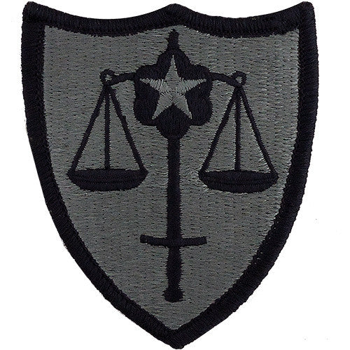 Trial Defense Service ACU Patch
