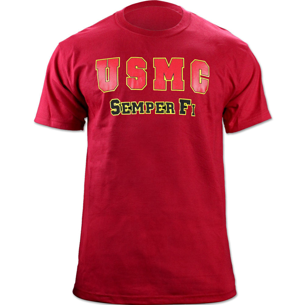 U.S. Marine Corps Semper Fi Red T-Shirt - Size Medium