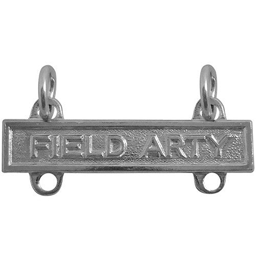 Field Artillery Bar - Nickel Finish