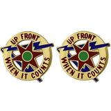 336th Transportation Group Unit Crest (Up Front When It Counts)