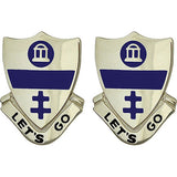 325th Infantry Unit Crest (Let's Go)