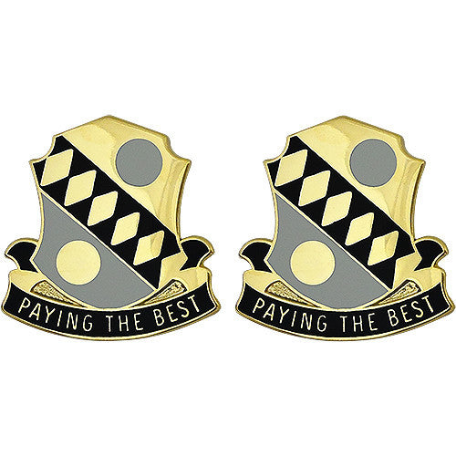 325th Financial Battalion Unit Crest (Paying The Best)