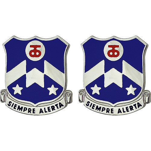 357th Regiment Unit Crest (Siempre Alerta)