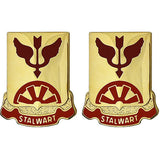 332nd Transportation Battalion Unit Crest (Stalwart)