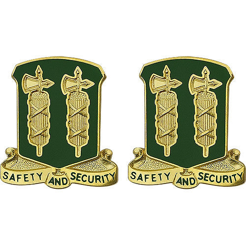 327th Military Police Battalion Unit Crest (Safety And Security)