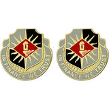 338th Finance Battalion Unit Crest (In Finance We Trust)