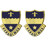 358th Regiment Unit Crest (Peragimus)