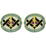 325th Quartermaster Battalion Unit Crest (Lifeblood Of The Army)