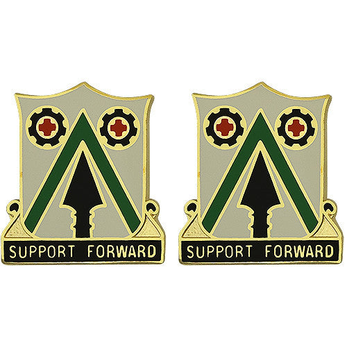372nd Support Battalion Unit Crest (Support Forward)