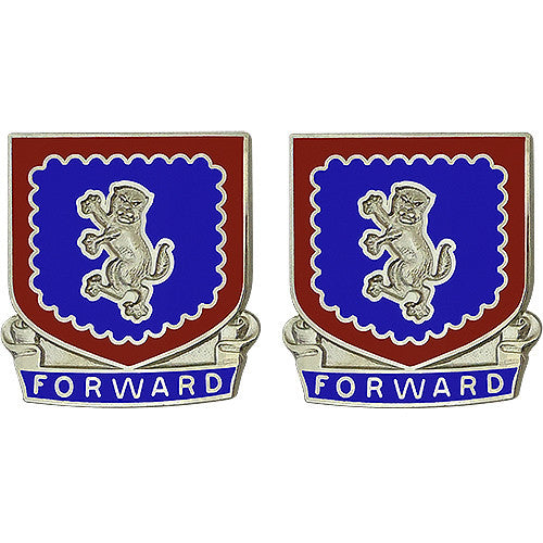 340th Regiment Advanced Individual Training Unit Crest (Forward)