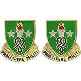 Soldier Support Institute Unit Crest (Praecipere Militi)