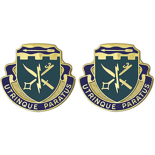 Special Troops Battalion, 39th Brigade Combat Team Unit Crest (Utrinque Paratus)