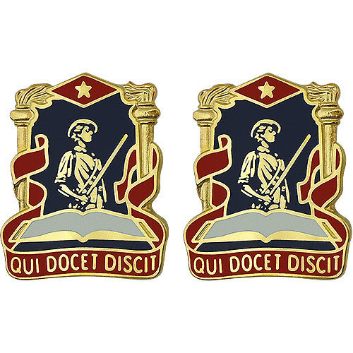 National Guard Professional Education Center Unit Crest (Qui Docet Discit)