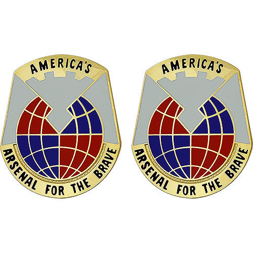 Materiel Command Unit Crest (America's Arsenal For The Brave)