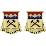 Colorado National Guard Unit Crest (Nil Sine Numine)