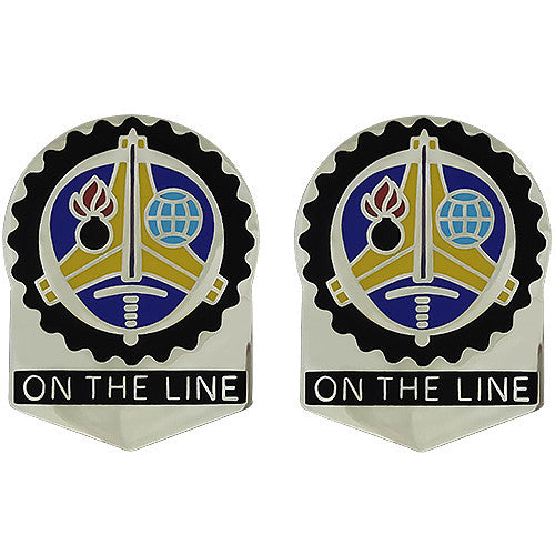 Operations Support Command Unit Crest (On The Line)