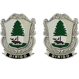 Maine National Guard Unit Crest (Dirigo)