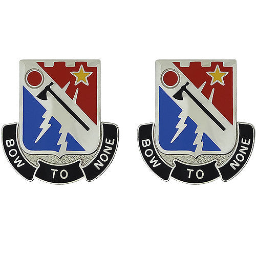 Special Troops Battalion, 37th Infantry Brigade Combat Team Unit Crest (Bow To None)
