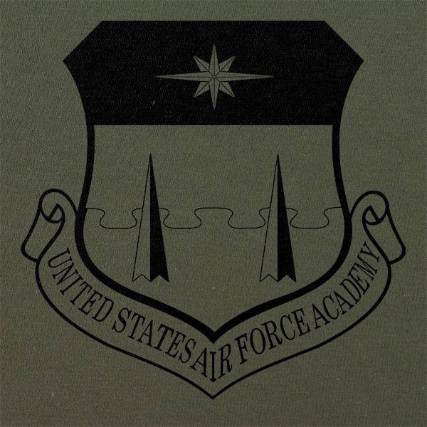 US Air Force Academy Subdued Patch T-Shirt