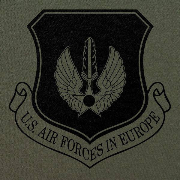 Air Forces in Europe Subdued Patch T-Shirt