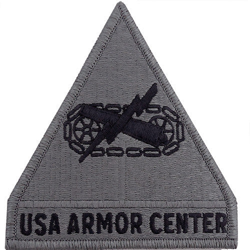 US Army Armor Center ACU Patch