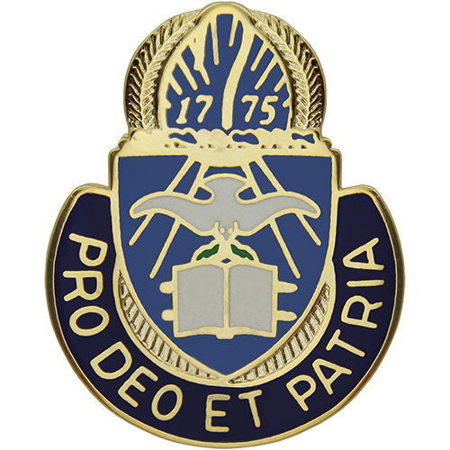 Army Chaplain Regimental Corps Crest