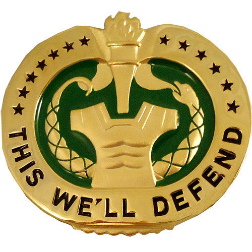 Army Drill Sergeant Identification Badge - Mirror Finish