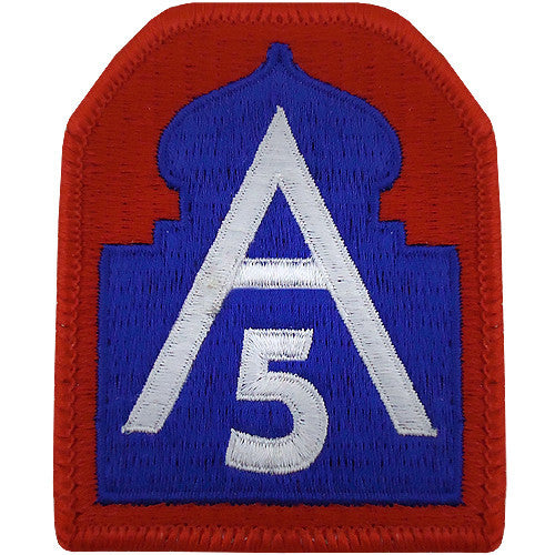 Army North (5th Army) Class A Patch