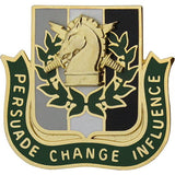 Army Psychological Operations Regimental Corps Crest
