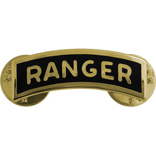 Army Ranger Tab - Dress Metal