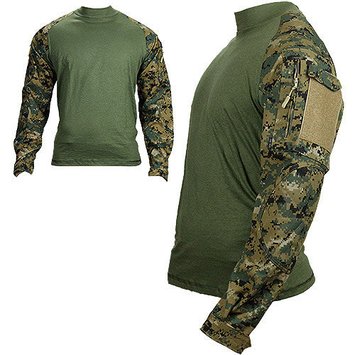 U.S. Marine Corps Woodland Digital TRU Combat Shirt - Small