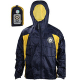 Navy 2-Tone Windbreaker