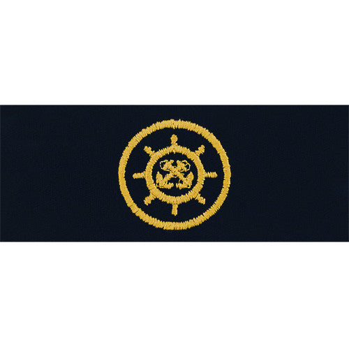 Navy Craftmaster Embroidered Coverall Breast Insignia