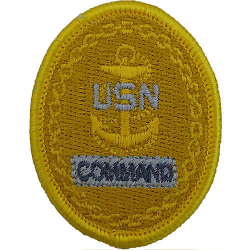 E-7 Chief Petty Officer of the Command Embroidered Identification Badge