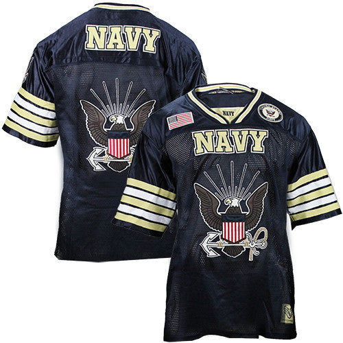 U.S. Navy Football Jersey - Size Large