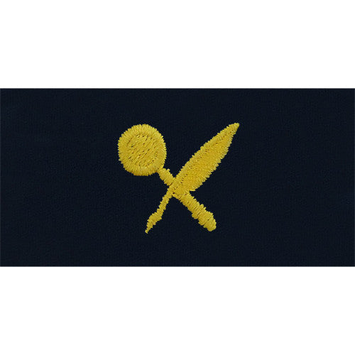 Navy Intelligence Technician Embroidered Coverall Collar Device