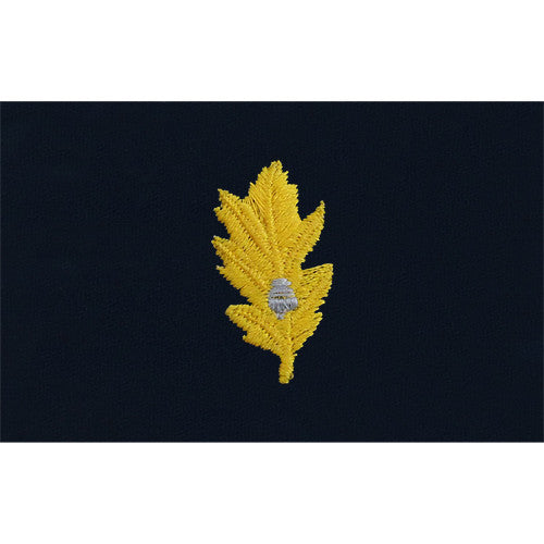 Navy Medical Corps Embroidered Coverall Collar Device