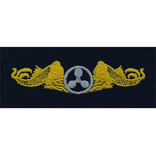 Navy Submarine Engineering Duty Embroidered Coverall Breast Insignia