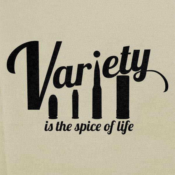 Variety is the Spice of Life Bullet T-Shirt