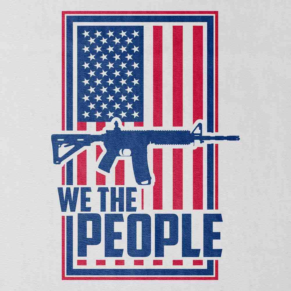 We the People T-Shirt - White - Small