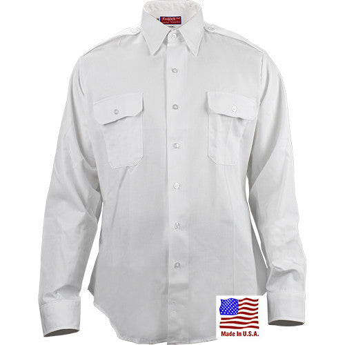 ASU White Dress Shirt - LS-14.5 x 33