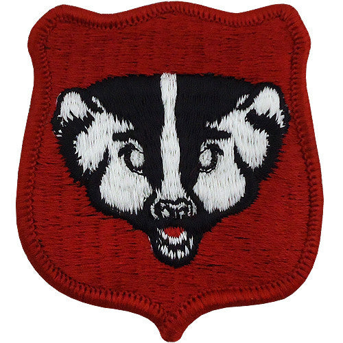 Wisconsin National Guard Class A Patch
