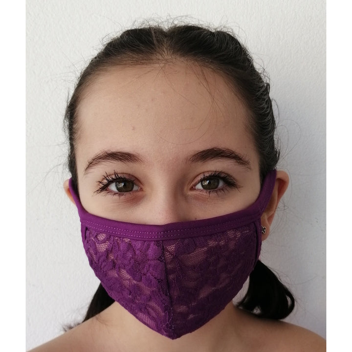 BAW2019B Face coverings(Lace)